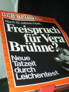 Bild des Verkäufers für 39/1973, Freispruch für Vera Brühne? zum Verkauf von Antiquariat Artemis Lorenz & Lorenz GbR