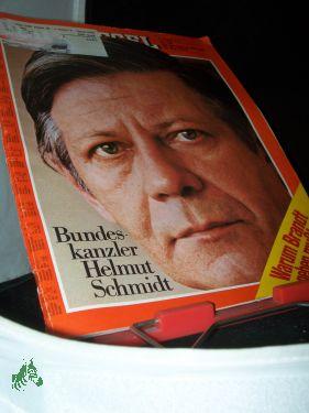 Bild des Verkäufers für 20/1974, Bundeskanzler Helmut Schmidt zum Verkauf von Antiquariat Artemis Lorenz & Lorenz GbR