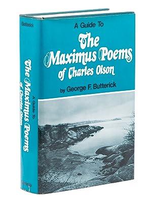 Immagine del venditore per A Guide to the Maximus Poems of Charles Olson venduto da Captain's Bookshelf, Inc., ABAA