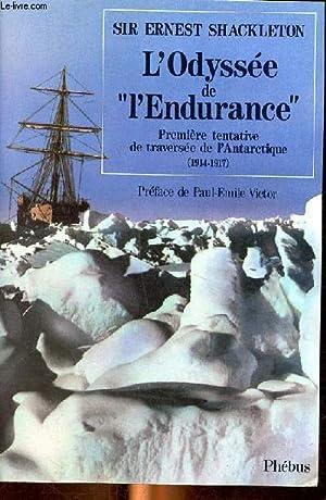 Image du vendeur pour L'odyssee de l'endurance mis en vente par Le-Livre