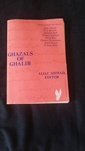 Seller image for Ahmad: Ghazals of Ghalib (Paper) for sale by Works on Paper
