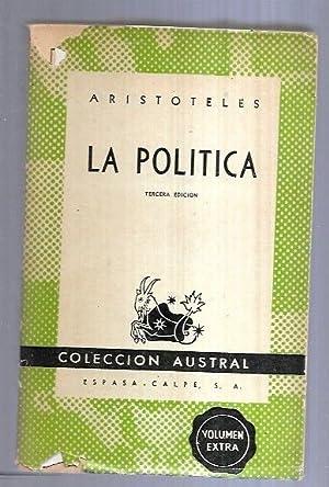 POLITICA: ARISTOTELES