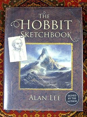 Bild des Verkäufers für The Hobbit Sketchbook, Signed By Author and Illustrator zum Verkauf von The Tolkien Bookshelf