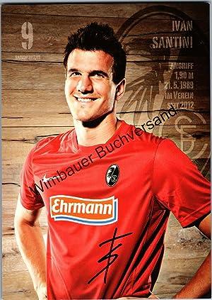 Bild des Verkäufers für Original Autogramm Ivan Santini SC Freiburg /// Autograph signiert signed signee zum Verkauf von Wimbauer Buchversand