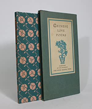 Seller image for Chinese Love Poems, From Most Ancient to Modern Times for sale by Minotavros Books, ABAC/ILAB