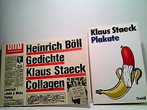 Bild des Verkäufers für Konvolut bestehend aus 2 Bänden, zum Thema: Klaus Staeck . zum Verkauf von ABC Versand e.K.