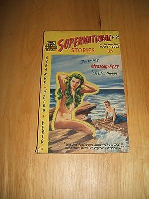 Bild des Verkäufers für Supernatural Stories #23 Featuring Mermaid Reef zum Verkauf von biblioboy