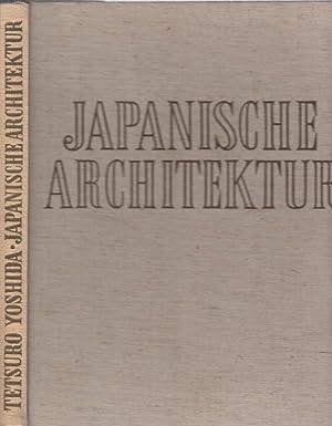 Seller image for Japanische Architektur. for sale by Antiquariat Carl Wegner