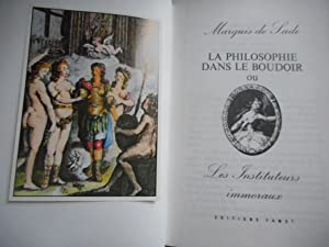 Image du vendeur pour La philosophie dans le boudoir mis en vente par Frederic Delbos