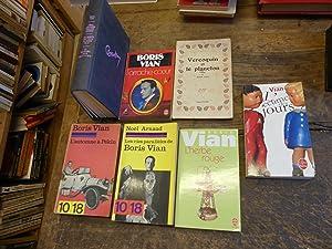 Image du vendeur pour lot de 7 livres de et sur Boris Vian : l'écume des jours - l'arrache coeur - l'automne à pékin mis en vente par Des livres et vous
