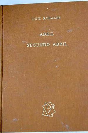 Imagen del vendedor de Abril a la venta por Alcaná Libros