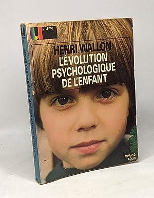 Imagen del vendedor de L'évolution psychologique de l'enfant a la venta por crealivres