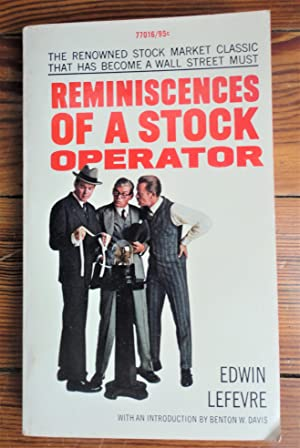 Seller image for Reminiscences of a Stock Operator for sale by Spenlow & Jorkins