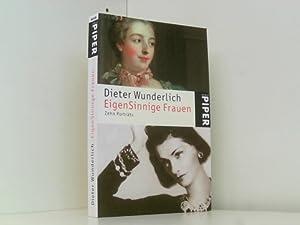 Bild des Verkäufers für EigenSinnige Frauen: Zehn Porträts zum Verkauf von Book Broker Berlin