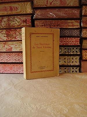 Les llàgrimes de Sant Llorenç . Novel la .: Coromines, Pere