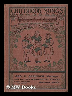 Childhood Songs : a Book of Words: Rowland, Mira. Rowland,
