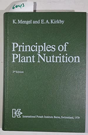 Principles of Plant Nutrition: Mengel, Dr. Konrad