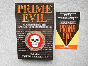PRIME EVIL (Pristine Multi-Signed Copy): Winter, Douglas (Editor)