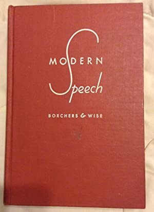 Modern Speech: Gladys L. Borchers