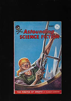 """Astounding Science Fiction. May 1959. British Edition. Includes """"The Pirates Of Ersatz"""" by ..."""