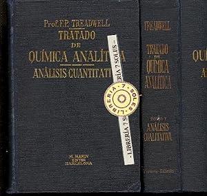 TRATADO DE QUIMICA ANALITICA, TOMO I -: Dr. F. P.