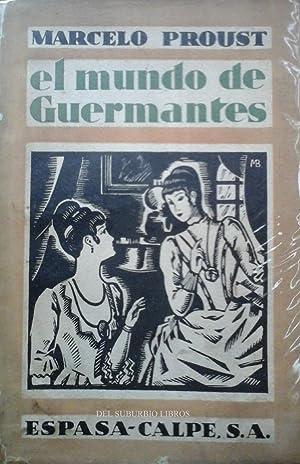 El Mundo de Guermantes: Proust, M.