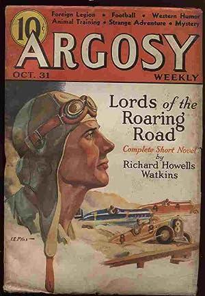 Argosy Weekly 1936 10-31 (Vol 268 #3): Hubbard, L. Ron;