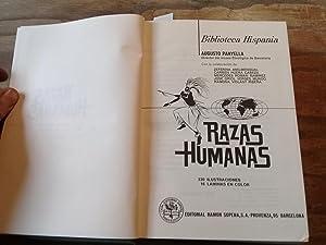 Razas Humanas.: Panyella, Augusto (Director del museo Etnológico de Barcelona.
