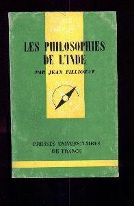 Les philosophies de l'Inde: FILLIOZAT, Jean
