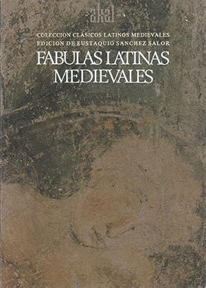 FABULAS LATINAS MEDIEVALES.: VV. AA.