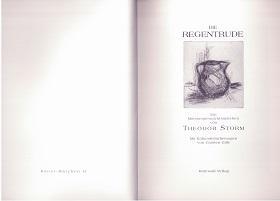 Die Regentrude. Ein Mittsommernachtsmärchen. Kunst-Märchen II (Kunstmärchen II).: Storm, Theodor, ...