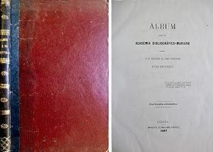 Imagen del vendedor de Álbum que la Academia Bibliográfico-Mariana ofrece a Su Santidad el Sumo Pontífice Pio Nono. a la venta por Hesperia Libros