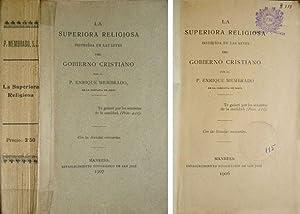 La Superiora Religiosa instruída en las leyes: MEMBRADO, Enrique.