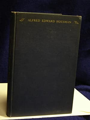 Alfred Edward Housman: recollections: Symons, Katharine E.