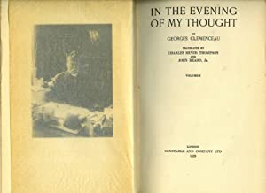 In The Evening of My Thought. [In: Clemenceau, Georges [Translated