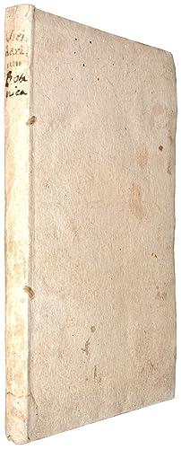 Bild des Verkäufers für Viridarium Florentinum sive conspectus plantarum quae floruerunt, & semina dederunt hoc anno 1750. in Horto Caesareo Florentino. Una cum adnotationibus . circa genericas plantarum nomenclaturas, simulque cum constitutione trium novorum Generum Niccolinia, Seguieria, & Guettardia. zum Verkauf von Antiquariaat Junk