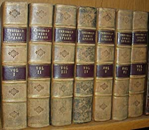 THE WORKS OF SHAKESPEARE: IN SEVEN VOLUMES.: Shakespeare, William