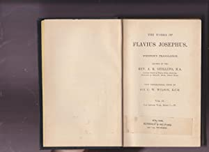 The Works of Flavius Josephus Whiston's Translation.: Josephus, Flavius; Shilleto,