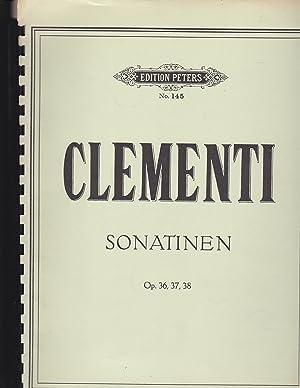 Clementi Sonatinen Op. 36, 37, 38 Herausgegeben: Clementi, M.