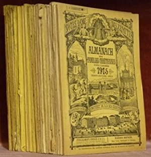 Almanach des familles chrétiennes. Années 1886-1892-1893-1895-1896-1897-1898-1899-1900-1901-1902-...
