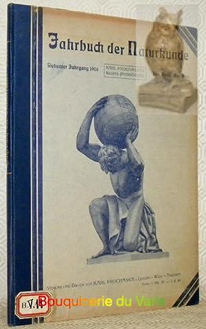 """Illustriertes Jahrbuch der Naturkunde, siebenter Jahrgang, 1909.""""Prochaskas Illustrierte ..."""