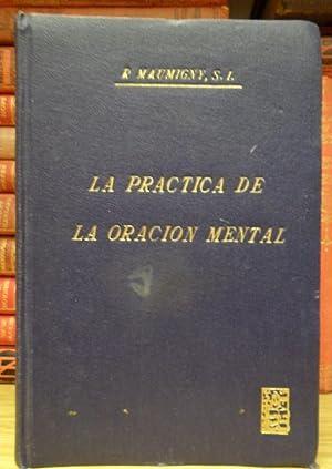 La práctica de la oración mental: MAUMIGNY, R. de