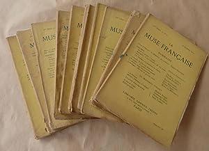La Muse Française.Du N°1 au N° 10 de l'année 1923. Année complète.Revue de poésie.