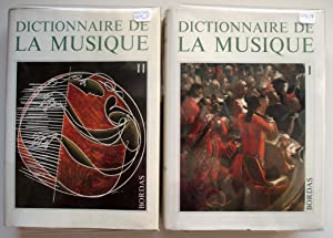 Dictionnaire de la musique en 2 volumes: Marc Honegger