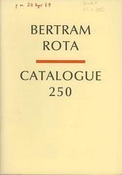 Bertram Rota Catalogue 20: Beckett, Samuel]