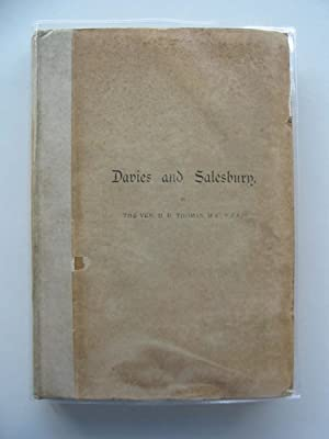 THE LIFE AND WORK OF BISHOP DAVIES & WILLIAM SALESBURY: Thomas, D.R.