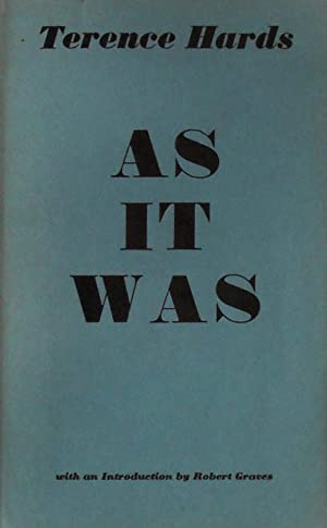 As it was; poems: Graves (Robert). Hards