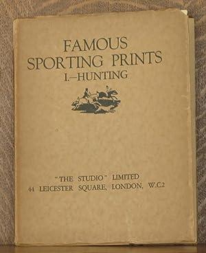 FAMOUS SPORTING PRINTS VOL. 1- HUNTING