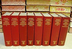 OBRAS COMPLETAS. 8 Vols. : 4 Vols: Perez Galdos, Benito.