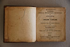 Walker's Critical Pronouncing Dictionary, and Expositor of: none stated)